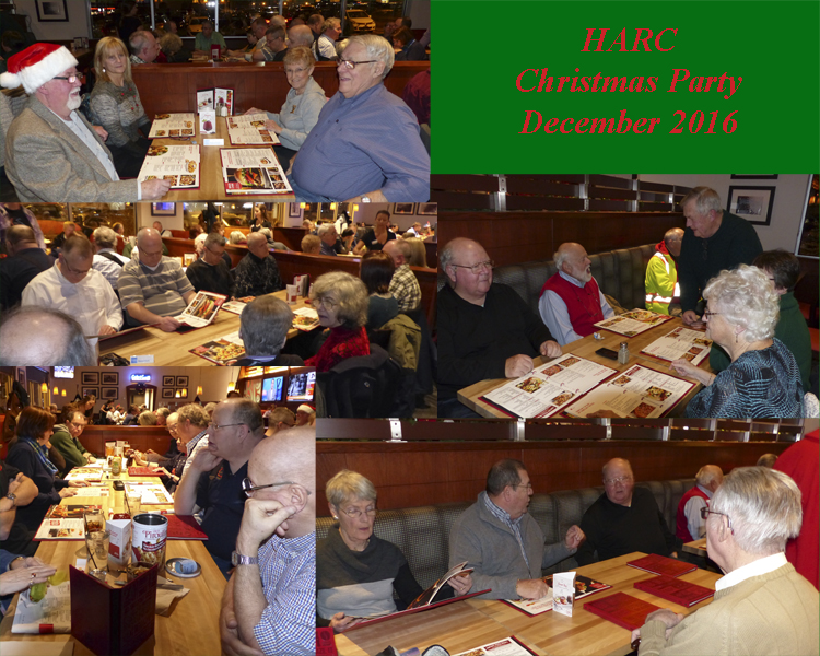 HARC Christmas Party 2016